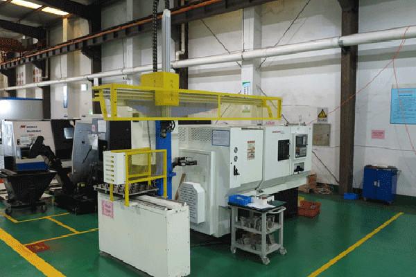 ZhongXin-h5050-cnc-Horizontal-Lathes(Robotic-Machine)